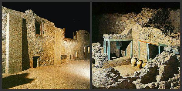 The Pompeii of the Aegean in Santorini - Akrotiri
