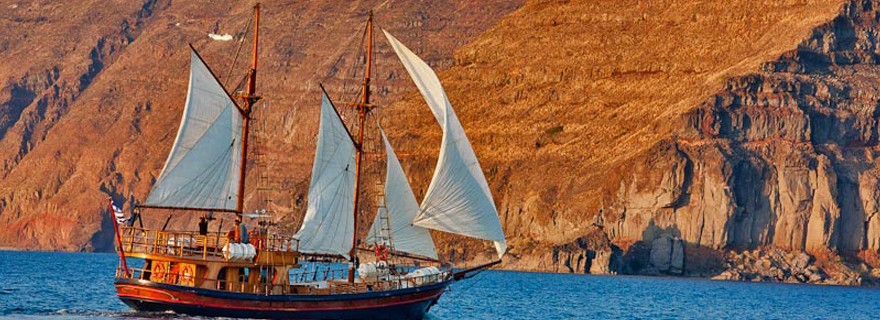 caldera boat tours
