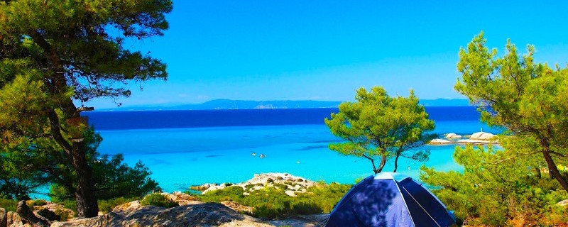 Best Greek island destinations for free camping