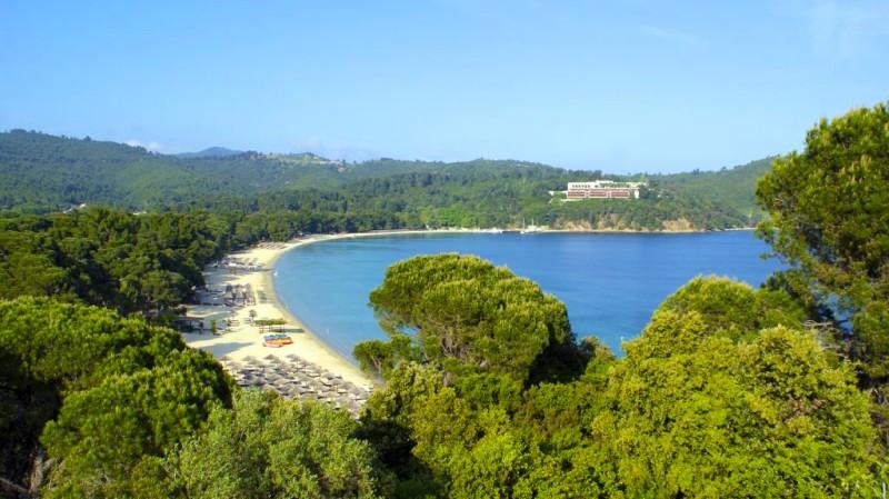 2. Koukounaries Beach