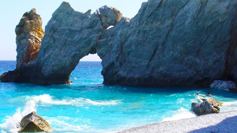 1. Lalaria Beach
