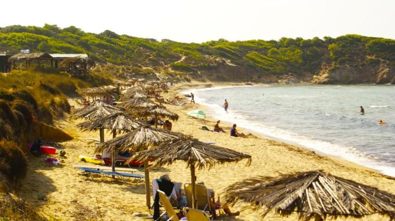 5. Mandraki beach