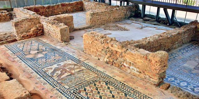 A visit to the Archaeological sites in Kefalonia