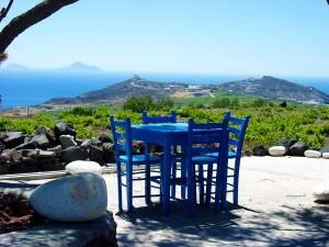 View from Akrotiri