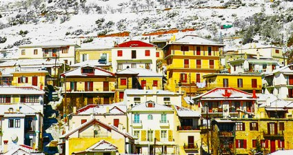 Best winter destinations - Arachova Greece