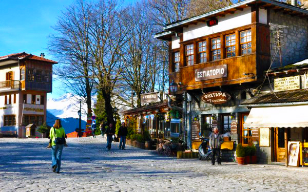 Best winter destinations - metsovo greece