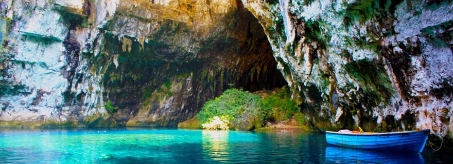 Melissani Lake, a timeless natural wonder in Kefalonia