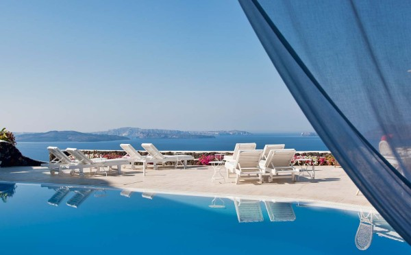 best hotels in santorini 2014
