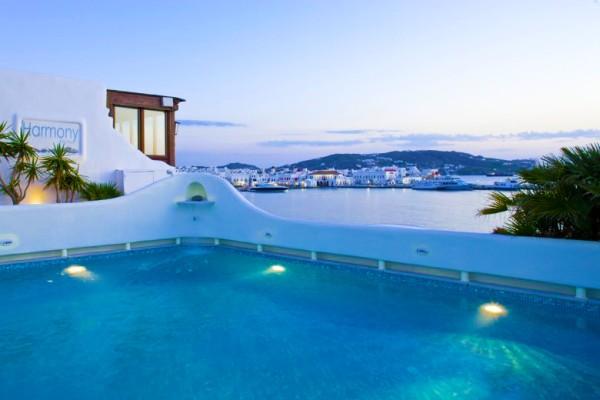 Mykonos Town Hotels - Harmony Hotel
