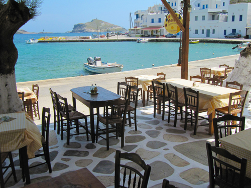 Best Taverns to enjoy Fresh Fish in Tinos
