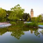 Chania public garden