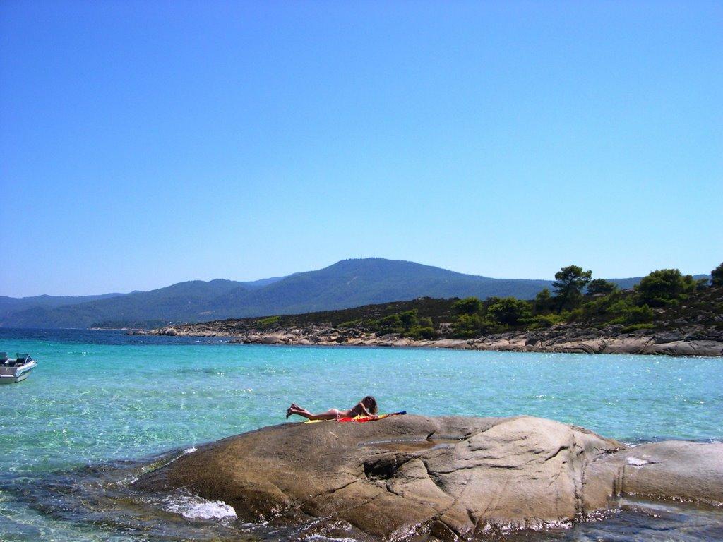 1. Vourvourou Beach