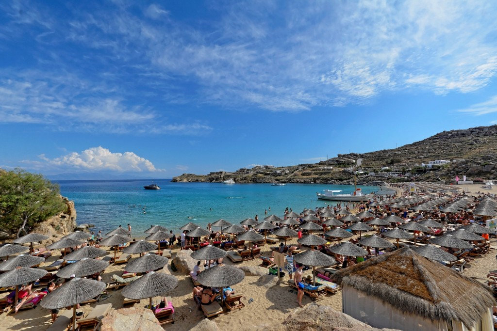 Best Island Beaches For Partying Mykonos St Barts: Super Paradise: The Utmost Beach Bar In Mykonos
