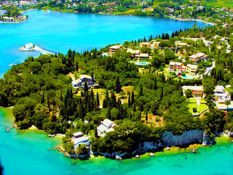 Kommeno Village, Corfu