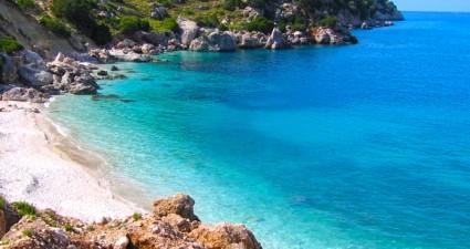 beaches kefalonia