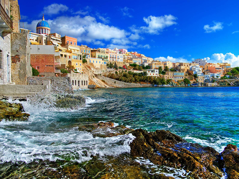 Quintessential Syros island